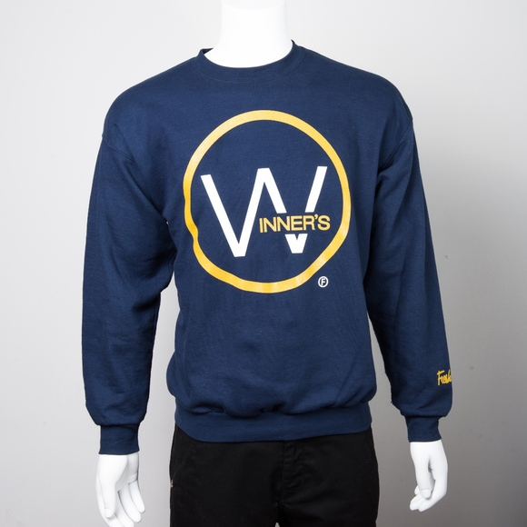 aa3e5996bdd freshlettes Other - Freshletes Winner Circle Blue Crewneck Sweatshirt